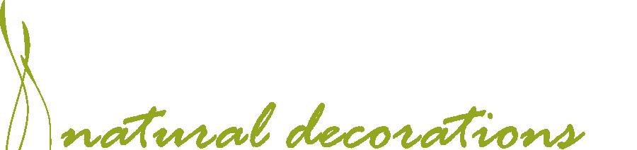 Logo natural deco